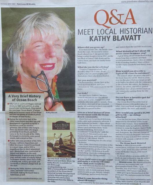KB Q A PL OB Monthly 7.18